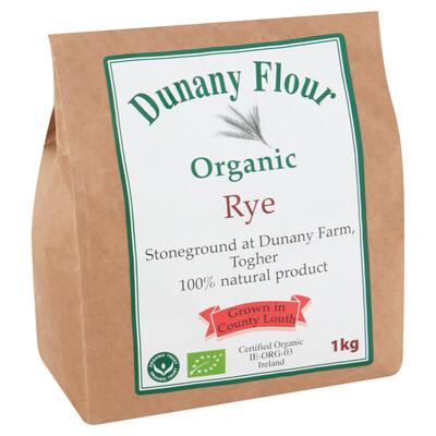 Dunany Organic Rye Flour 1Kg