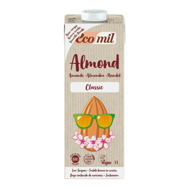 Ecomil Classic Organic Almond Milk 1l