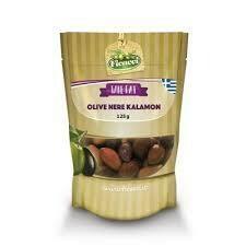 Ficacci Black Natural Kalamon Olives Bag 140g