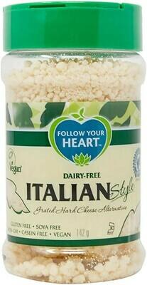 Follow Your Heart Italian Style Vegan Grated Parmesan 142g