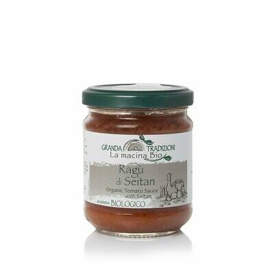 Granda Tradizioni Organic Tomato Sauce & Seitan 180g