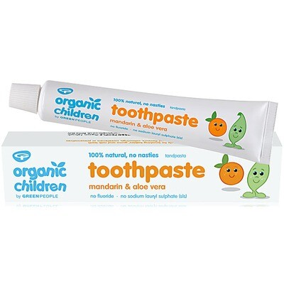 Green People Children's Organic Mandarin Toothpaste 50ml