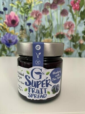 G's Super Fruit Spread Blueberry With Chia Seeds 250g