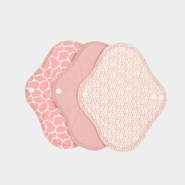 ImseVimse Reusable Panty Liner Blossom 3pk