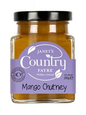 Janet's Country Fayre Mango Chutney 200g