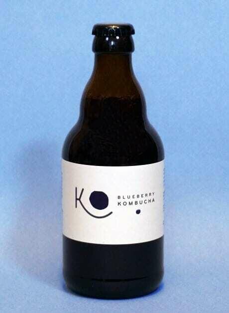 Ko Kombucha Organic Blueberry Kombucha 330ml