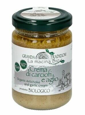 Granda Tradizioni Organic Artichoke And Garlic Cream 130g