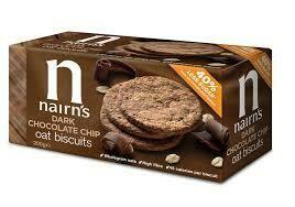 Nairns Dark Chocolate Oat Biscuits 200g