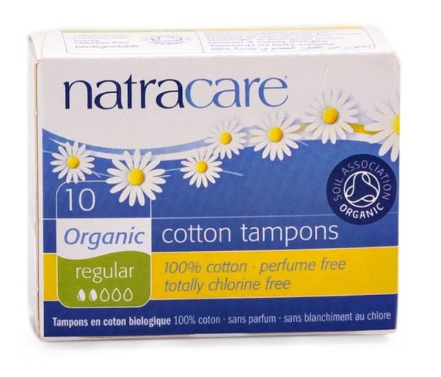 Natracare Organic Cotton Tampons Regular 10
