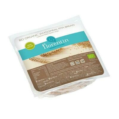 Florentin Organic Kitchen Organic Wholemeal Pita Bread 4 Pieces