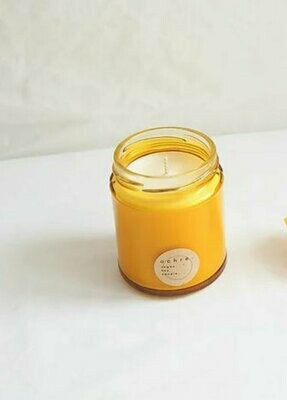 Ochre Soy Candle Sage And Lemongrass