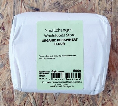 Small Changes Organic Buckwheat Flour 500g