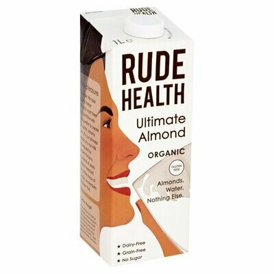 Rude Health Ultimate Almond Drink 1Lt