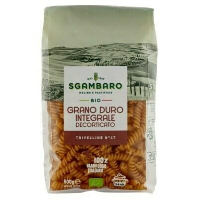 Sgambaro Pasta Organic Trivelline No.47  500g
