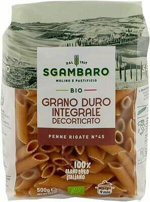 Sgambaro Organic Penne Rigate No.45 500g