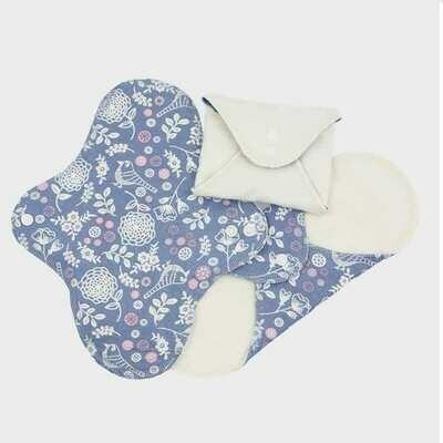ImseVimse Reusable Panty Liners Garden 3pk
