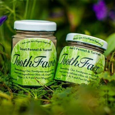 ToothFaerie Sweet Fennel and Tumeric 85ml