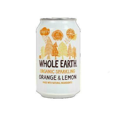 Whole Earth Organic Orange & Lemon 330ml