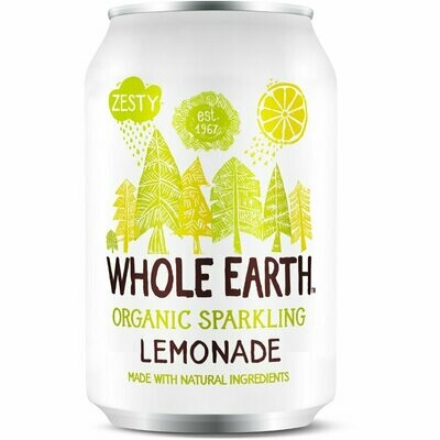 Whole Earth Organic Sparkling Lemonade 330ml
