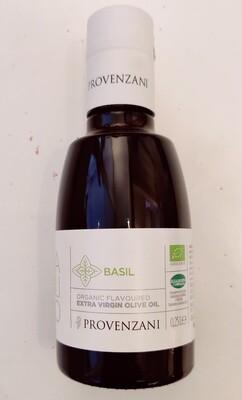 Provenzani Organic Extra Virgin Olive Oil With Basil 250ml