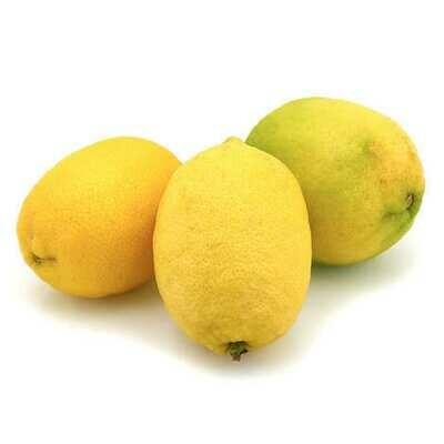 Organic Unwaxed Lemons Each
