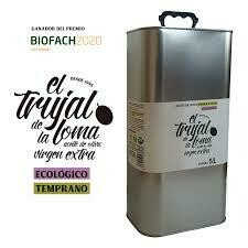 Trujal  de la Loma Organic Ext Virgin Olive Oil Refill 100ml