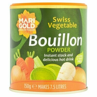 Marigold Swiss Vegetable Gluten & Yeast Free Bouillon Powder 150g