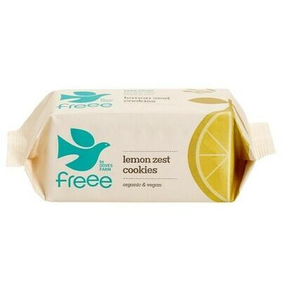 Doves Farm Organic Lemon Zest Gluten Free Cookies 150g