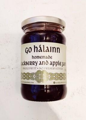 Go Hálainn Blackberry And Apple Jam 350g