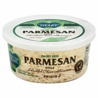 Follow Your Heart Italian Style Vegan Shredded Parmesan 113g