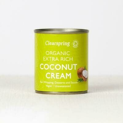 Clearspring Organic Extra Rich Coconut Cream 200ml