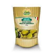 Ficacci Green Olives Verdi Cerignola Bag 140g
