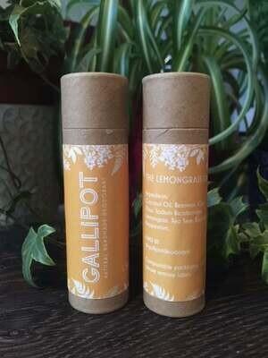 Gallipot Lemongrass Natural Handmade Deodorant 52g