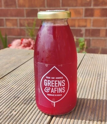 Greens & Afins Blueberry Lavender Kombucha 250ml