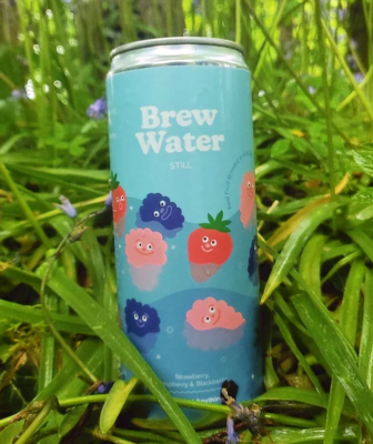 Brew Water Still Flavoured Water 330ml