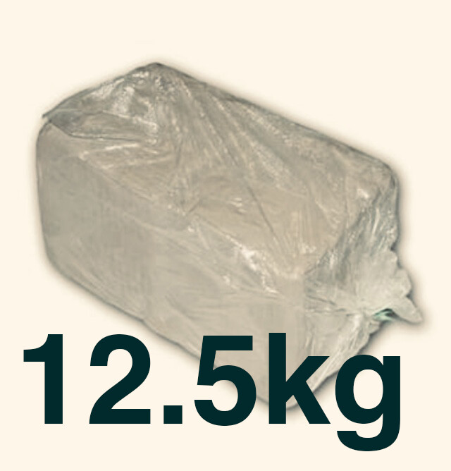 12.5kilos White Earthenware (1 bag)