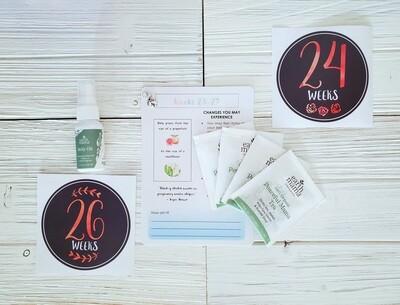Monthly Preggie Pack - Sixth Month | Pregnancy Weeks 23-27
