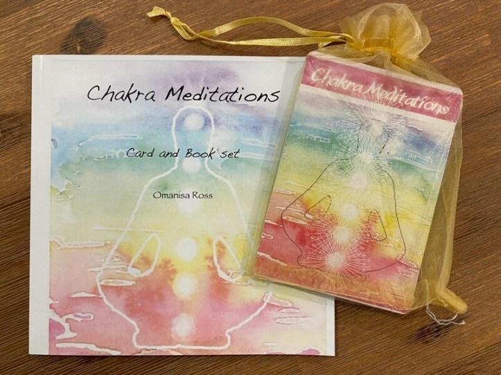 Chakra Meditations - card and book set