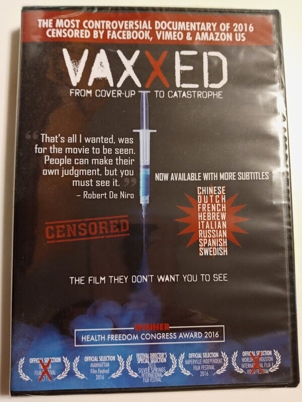 Vaxxed - From Cover up to Catastrophe DVD