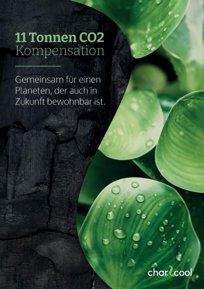 Jahreskompensation CO2-Zertifikat
