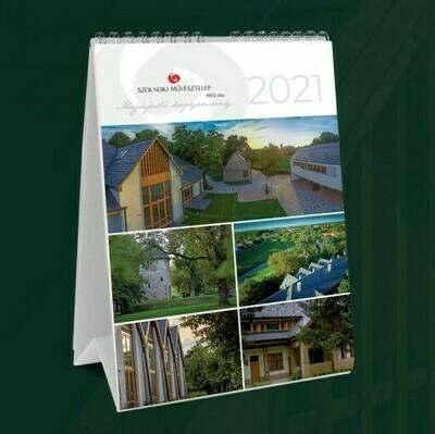 A Szolnoki Művésztelep 2021-es naptára