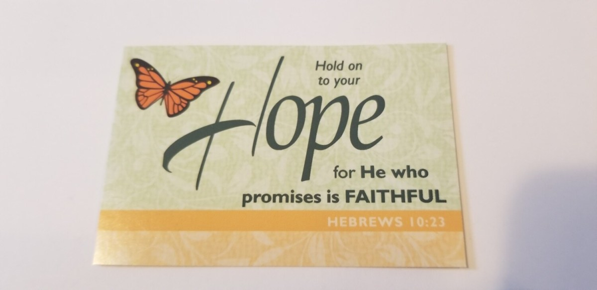 Pass It On - Hope Hebrews 10:23