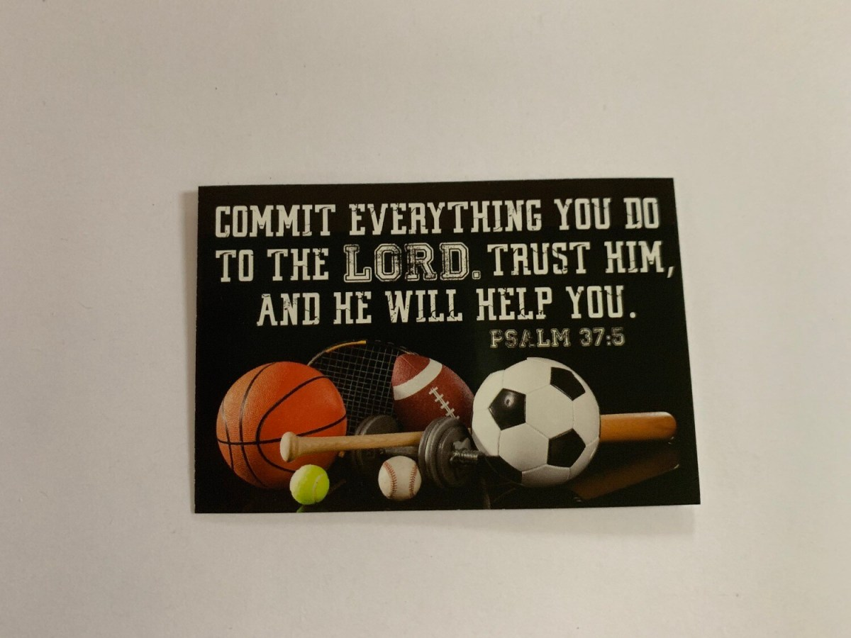 Pass It On - Commit Everything You Do Psalm 37:5