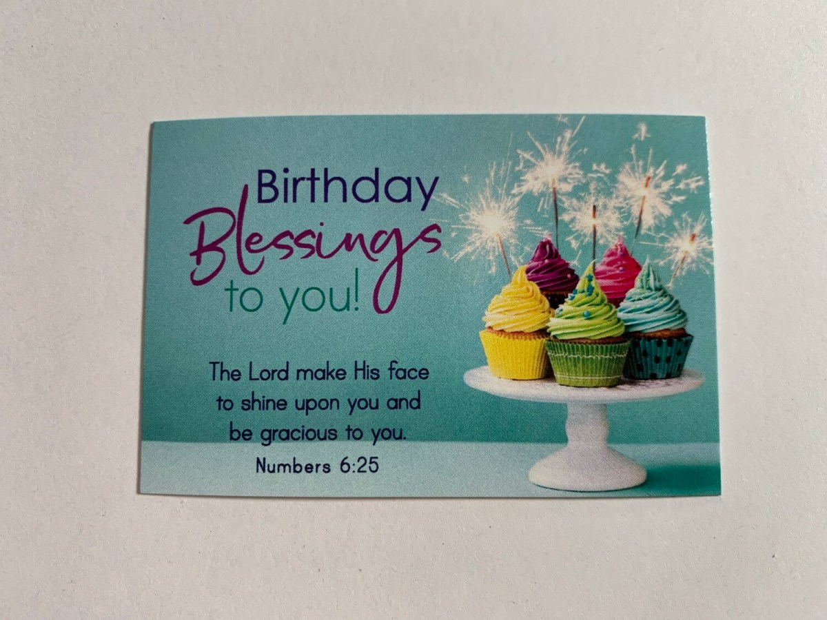Pass It On - Birthday Blessings to You Num. 6:25