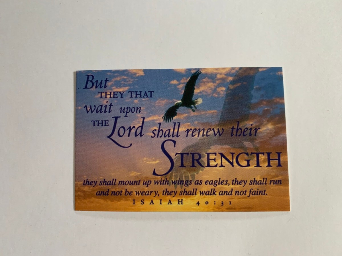 Pass It On - But They That Wait Isaiah 40:31