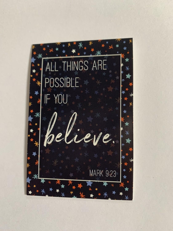 Pass It On - Mark 9:23