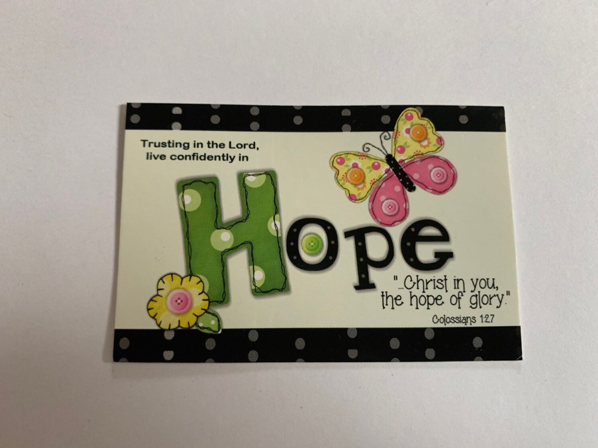 Pass It On - Hope Colossians 1:27