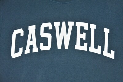 Caswell Arc Vintage Blue Tee