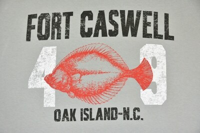 Youth Flounder Fort Caswell Shirt