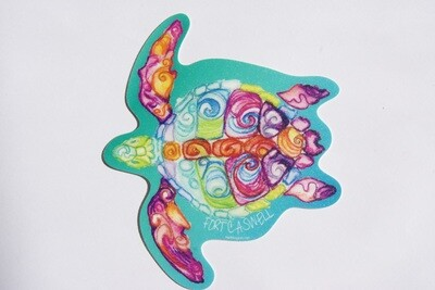 Reg Turtle Sticker